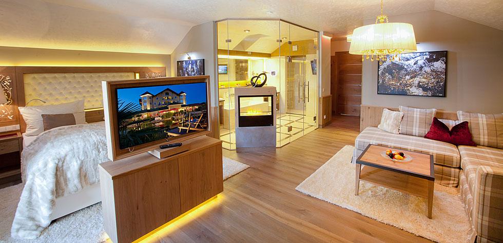 Suite im Hotel Bayerischer Wald
